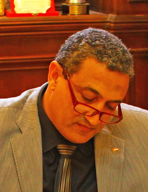 اللواء محمد أيمن عبد التواب نائب محافظ القاهرة للمنطقتين الشمالية والغربية