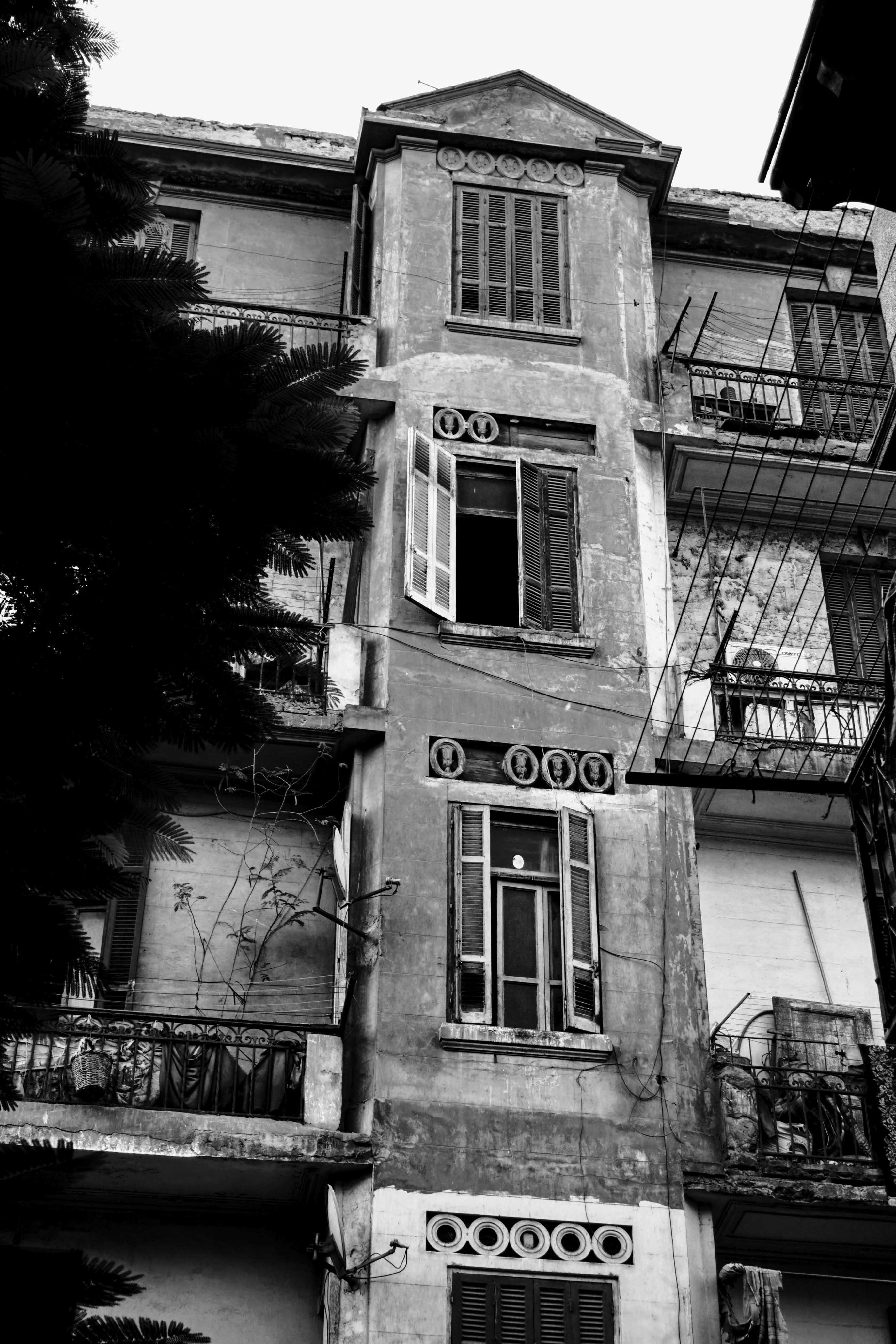 أحد مباني مثلث ماسبيرو - تصوير ميشيل حنا (4)