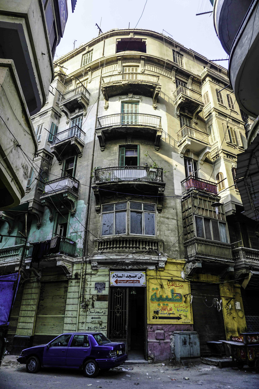 أحد مباني مثلث ماسبيرو - تصوير ميشيل حنا (8)