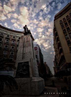 تمثال مصطفي كامل - تصوير-حازم حافظ