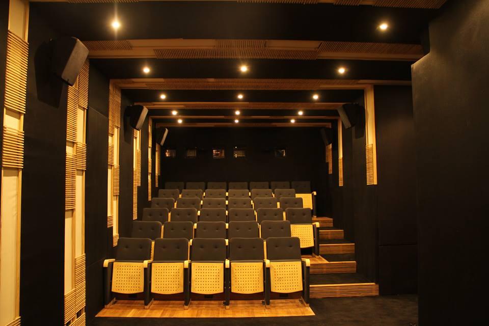 قاعة عرض الأفلام بمركز الفيلم البديل - سيماتك