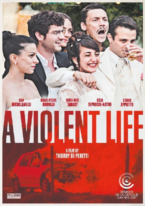 بوستر فيلم حياة عنيفة - للمخرج تييري دو بيرتي