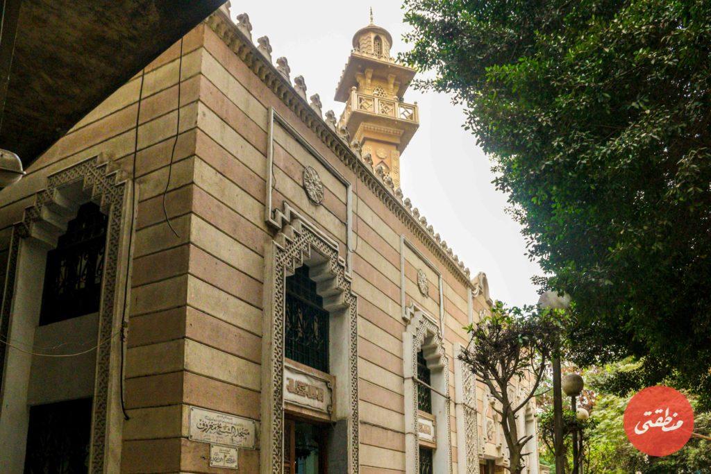 مسجد الشيخ المعروف - تصوير -صديق البخشونجي