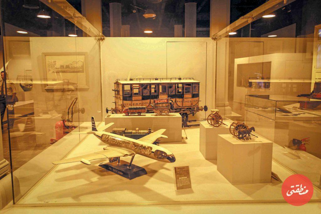 مجسمات من مقتنيات متحف السكك الحديدية المصرية - تصوير: صديق البخشونجي