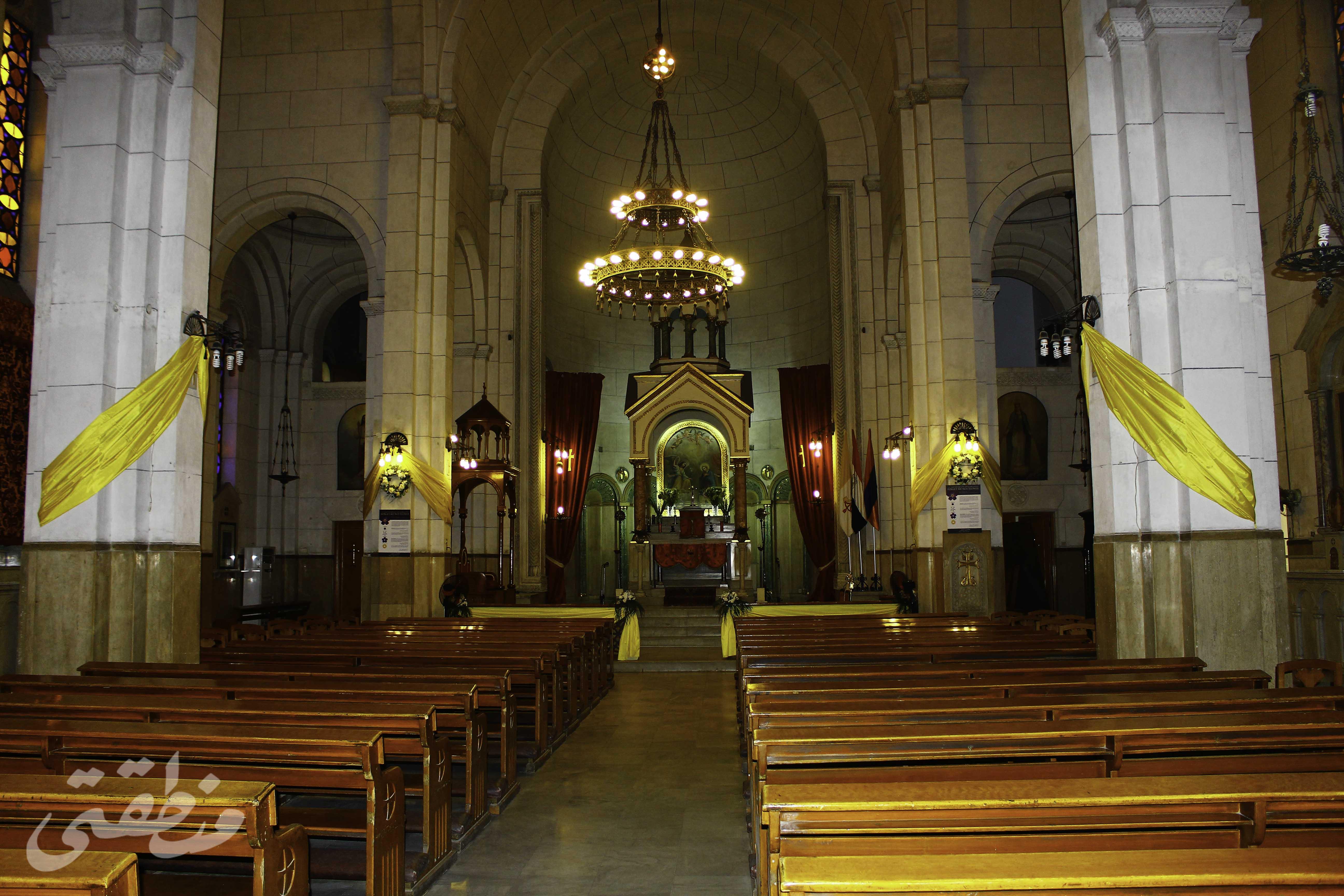 بطريركية الأرمن الكاثوليك من الداخل - تصوير - صديق البخشونجي