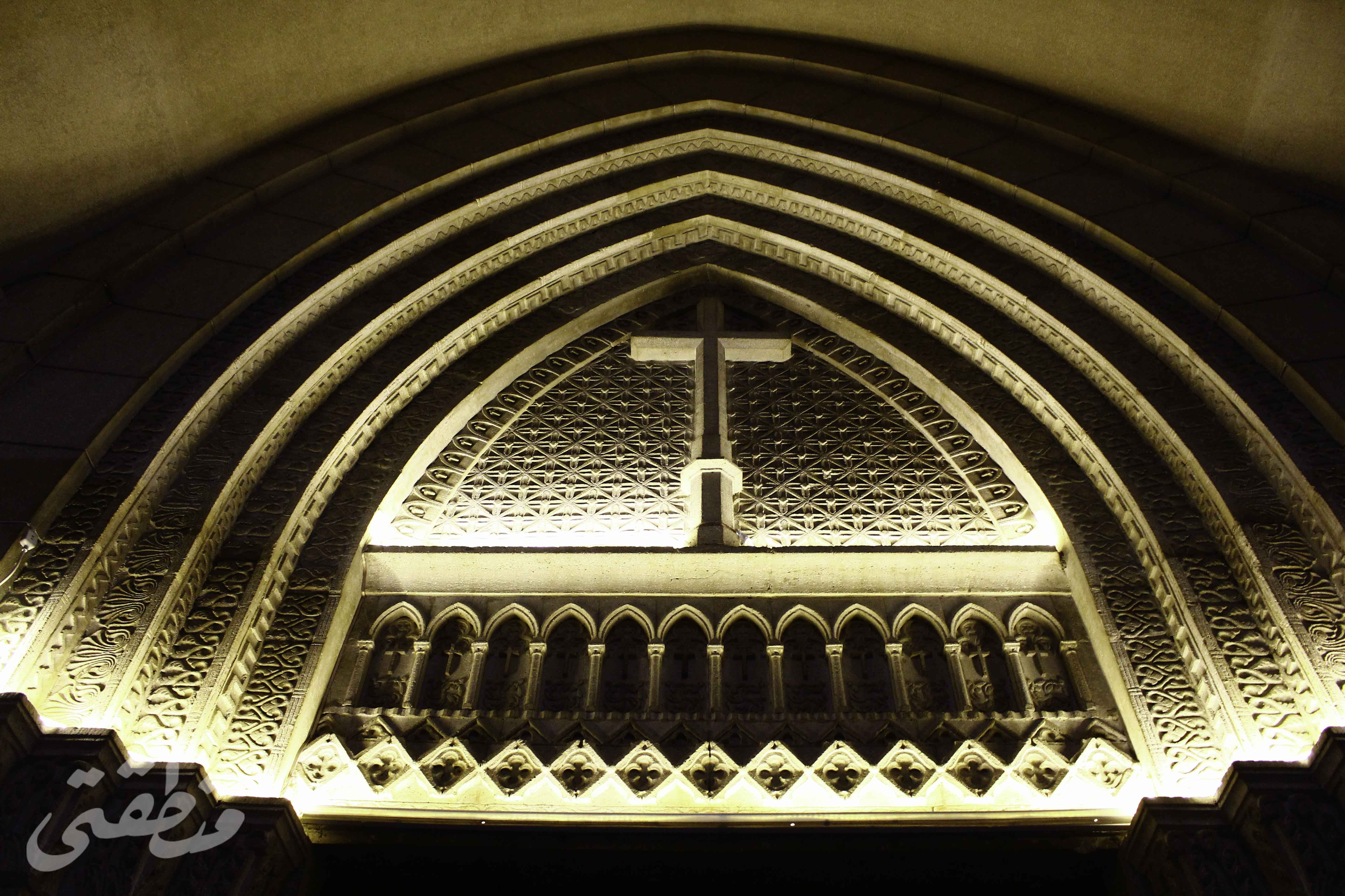 كنيسة قصر الدوبارة - تصوير - صديق البخشونجي