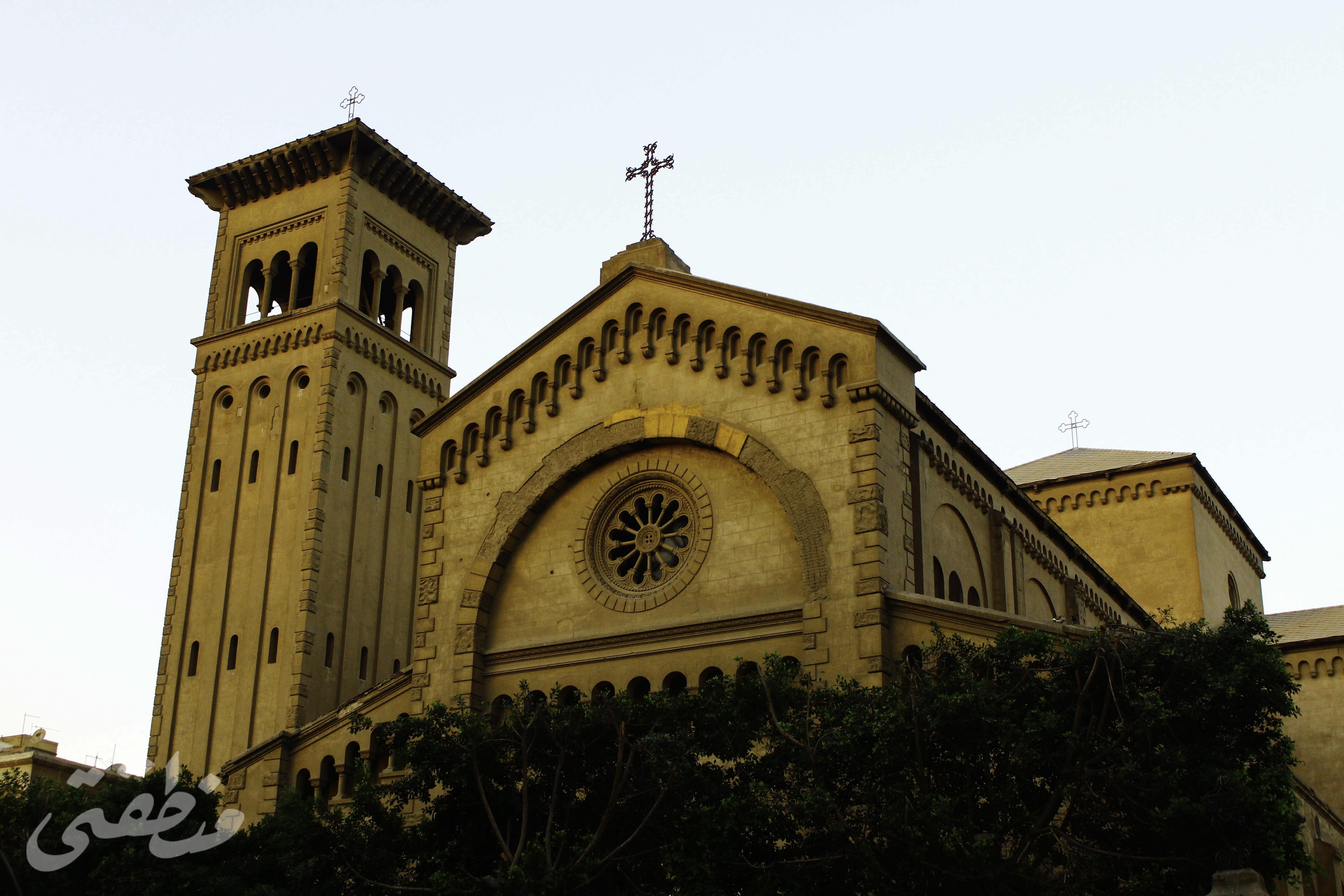 كنيسة مريم العذراء -تصوير - صديق البخشونجي