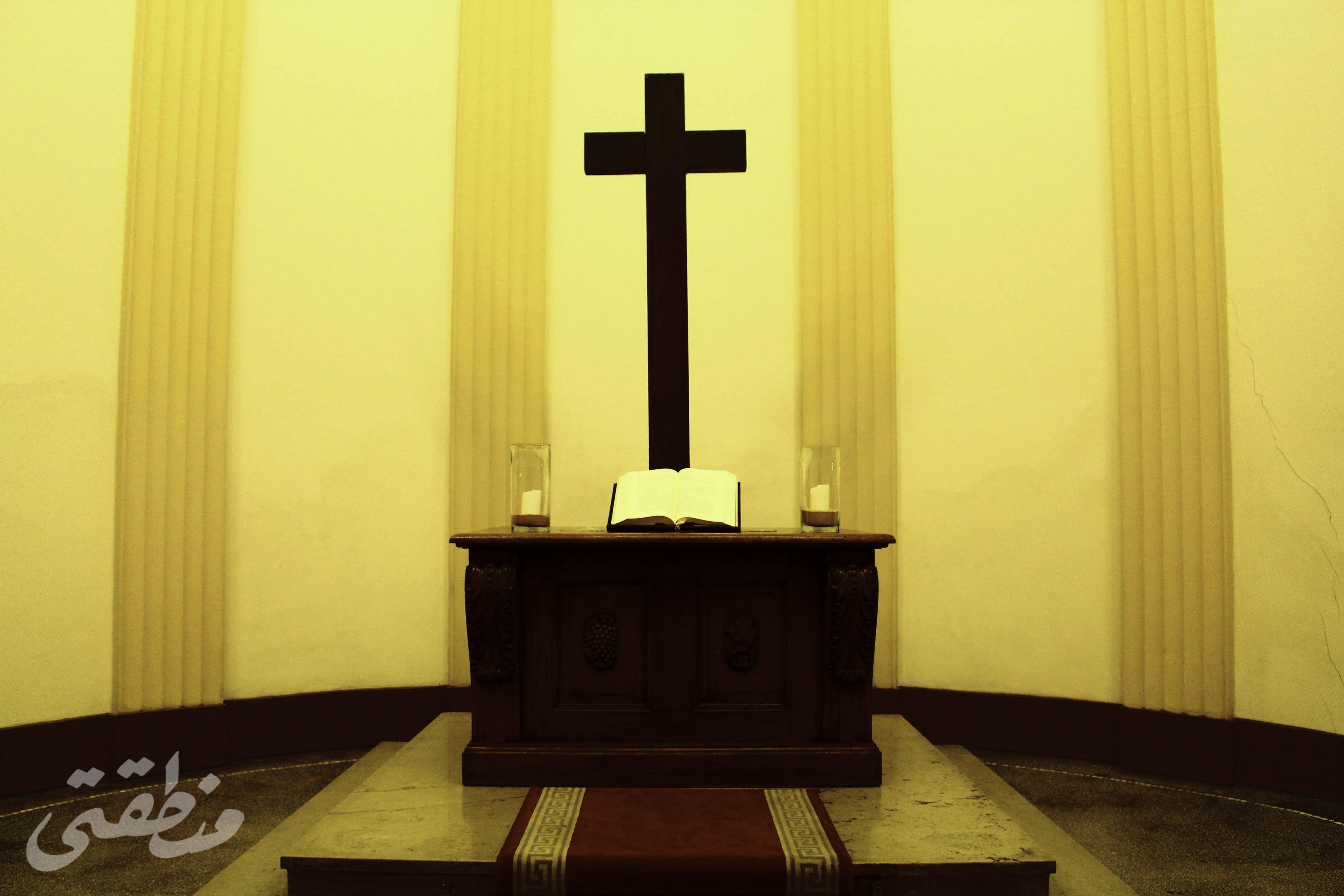 الكنيسة الإنجيلية الألمانية - تصوير - صديق البخشونجي