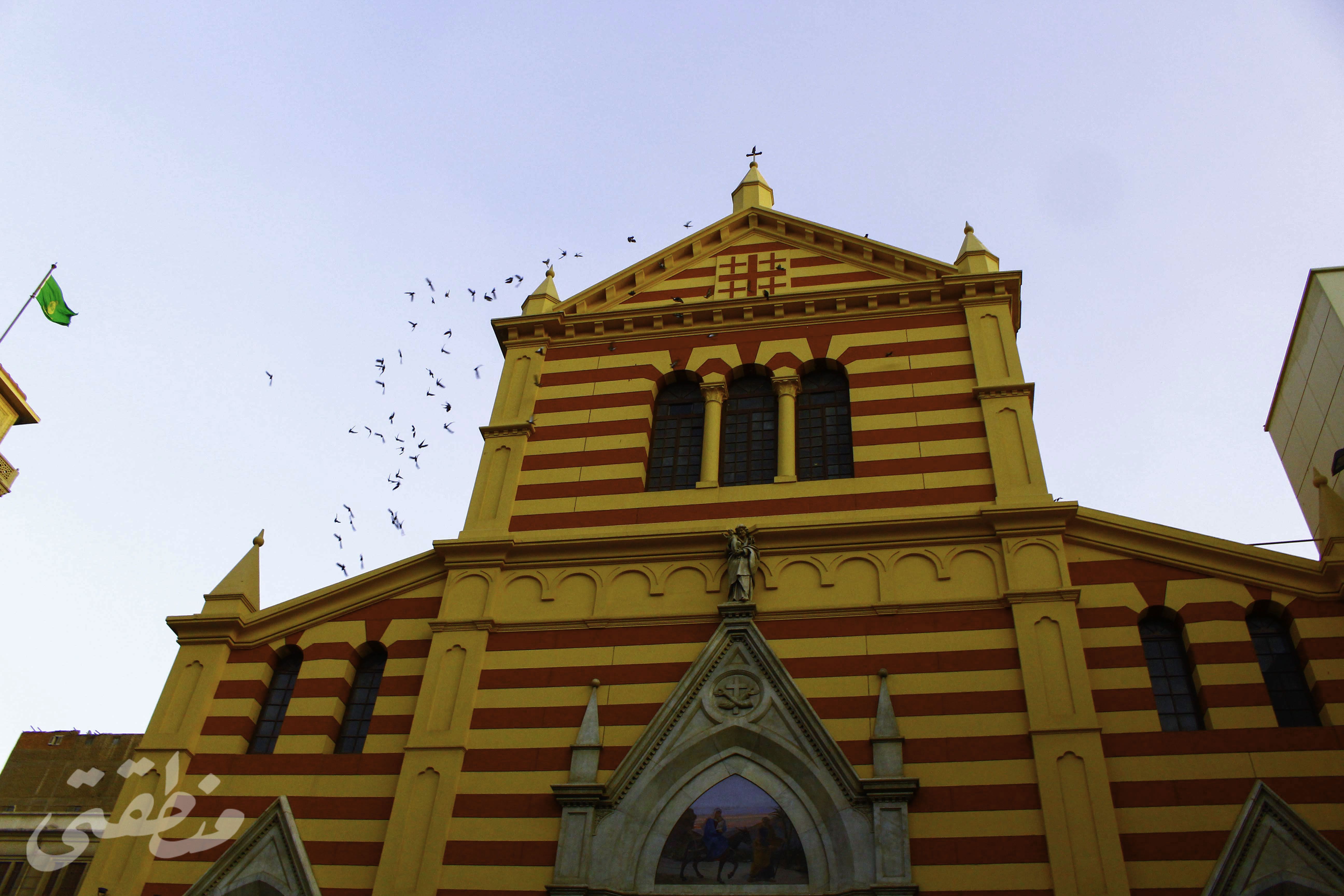 كنيسة سان جوزيف - تصوير- صديق البخشونجي