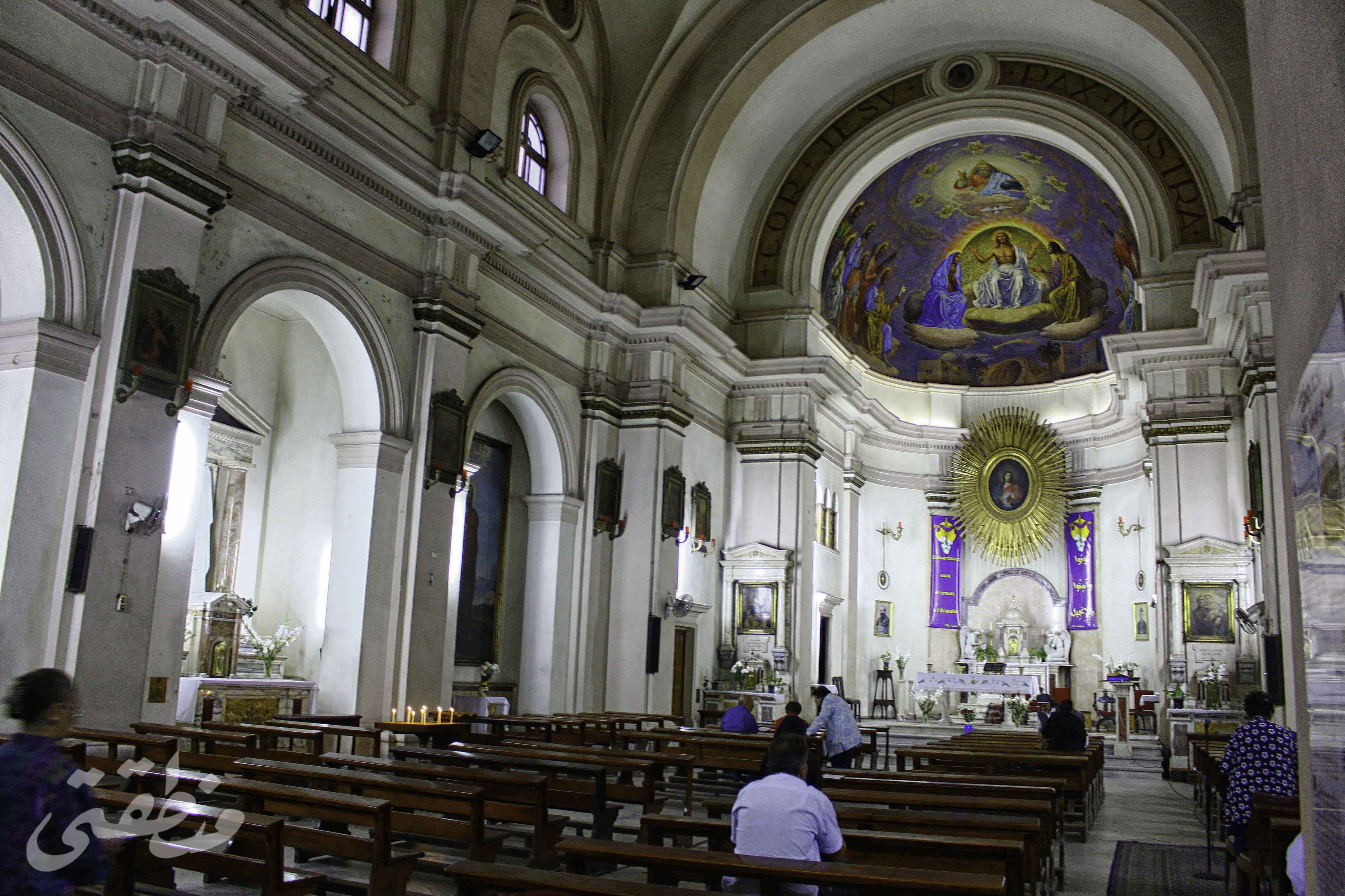 كنيسة كوردي ييزو من الداخل - تصوير - صديق البخشونجي
