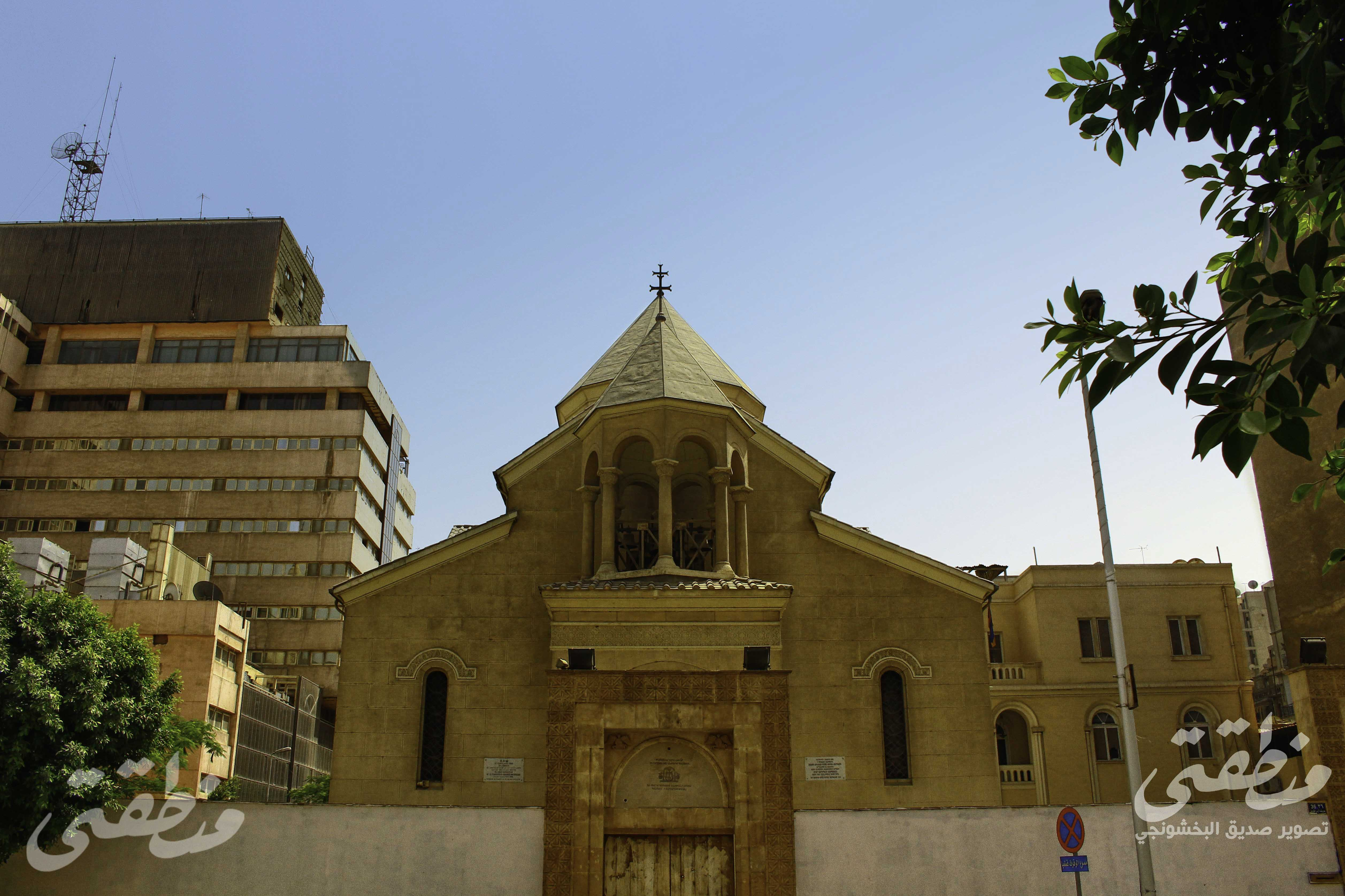 بطريركية الآرمن الكاثوليك من الخارج - تصوير - ميشيل حنا