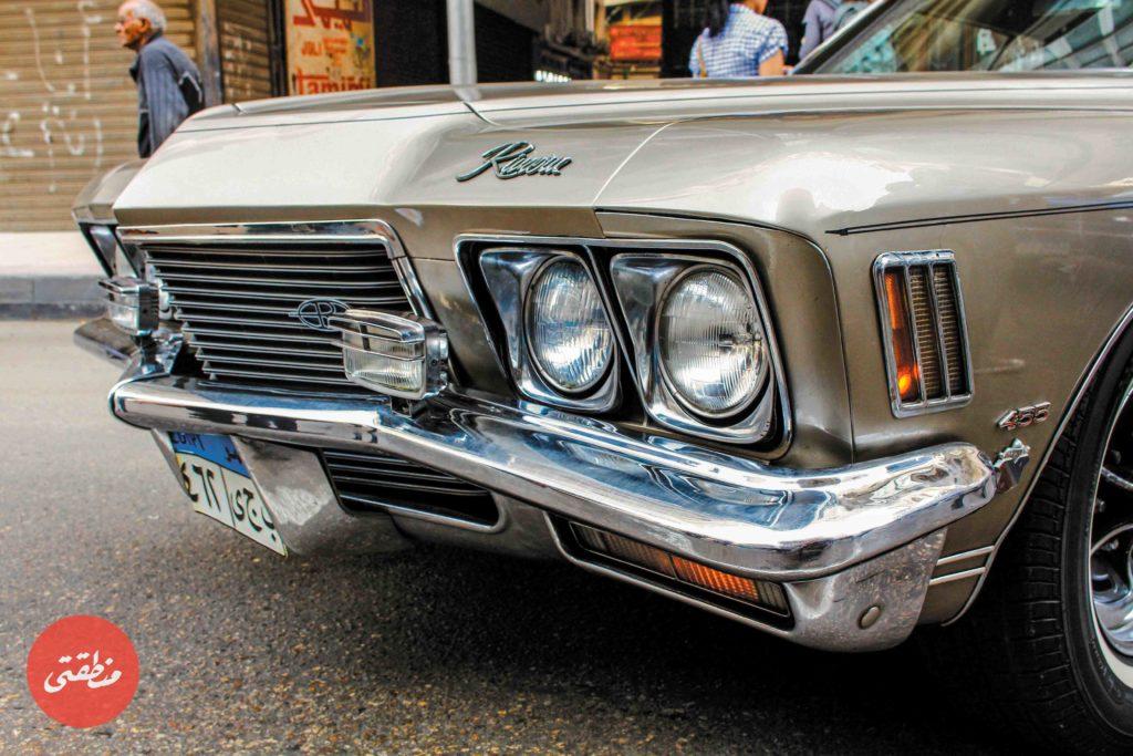 احدى السيارات القديمة التي يمتلكها أعضاء النادي - تصوير: صديق البخشونجي