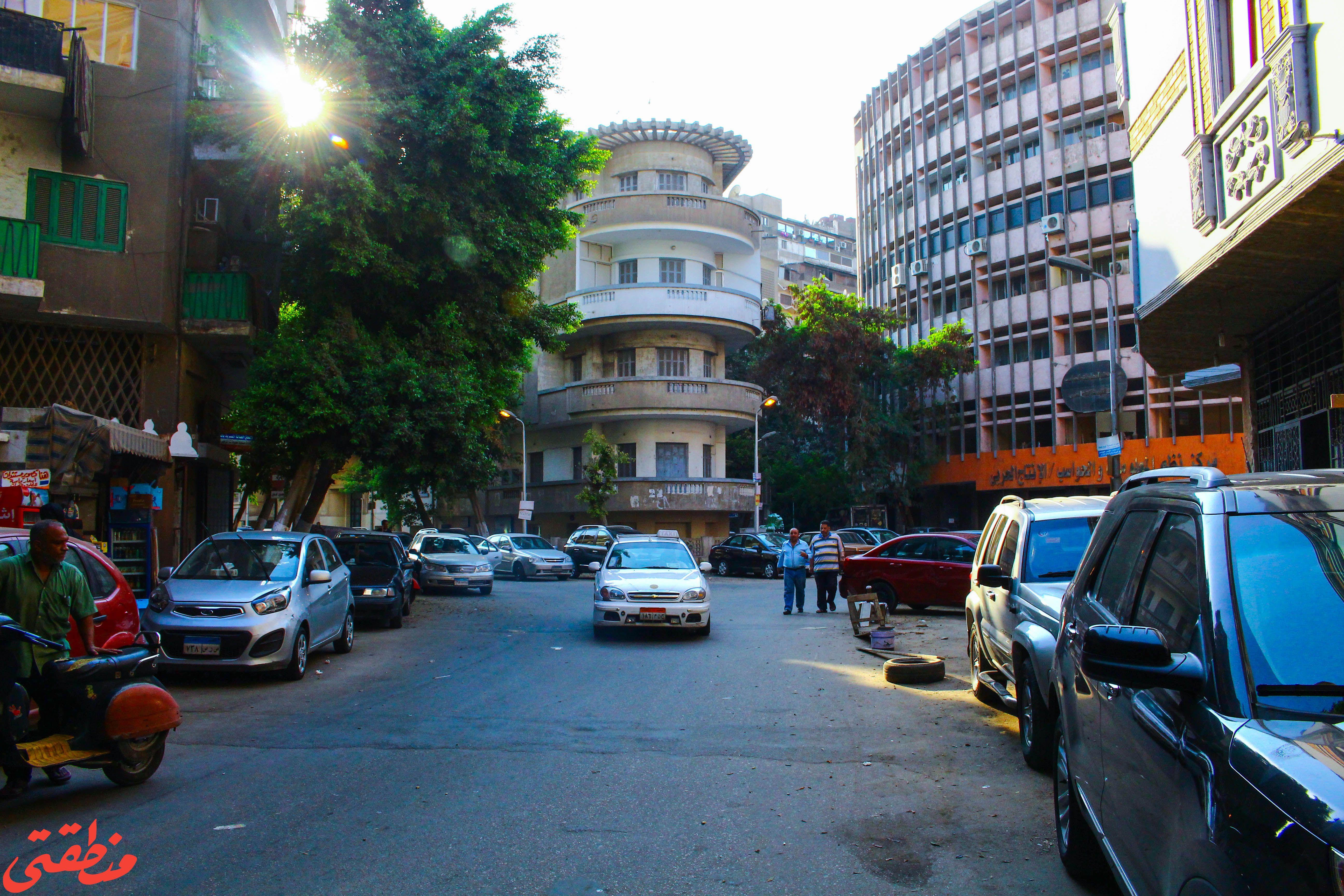 جاردن سيتي.. الشرفات والشوارع الدائرية