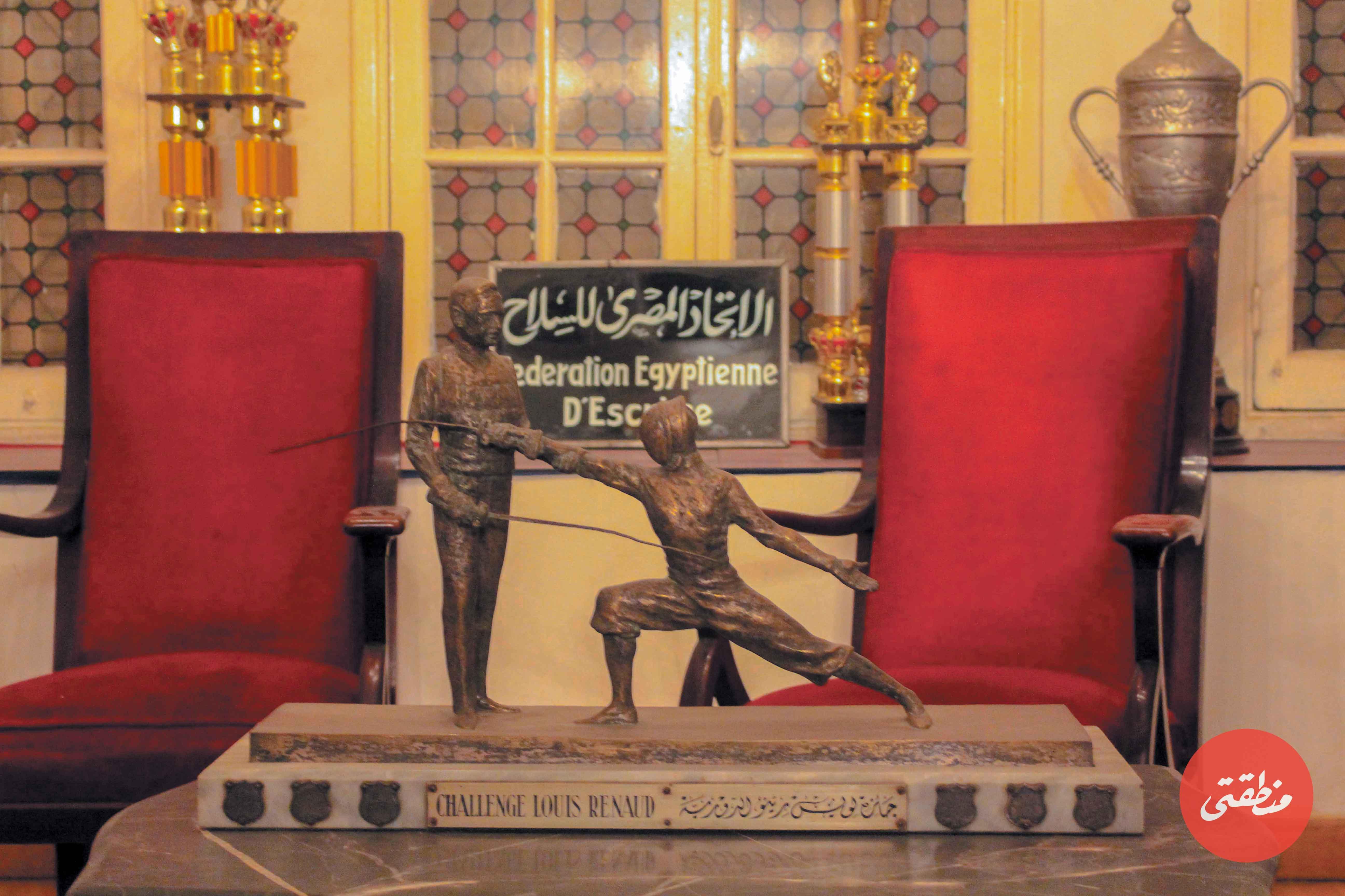 من داخل نادي السلاح المصري - تصوير: صديق البخشونجي
