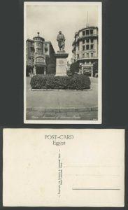 تمثال سليمان باشا على احدى البطاقات البريدية