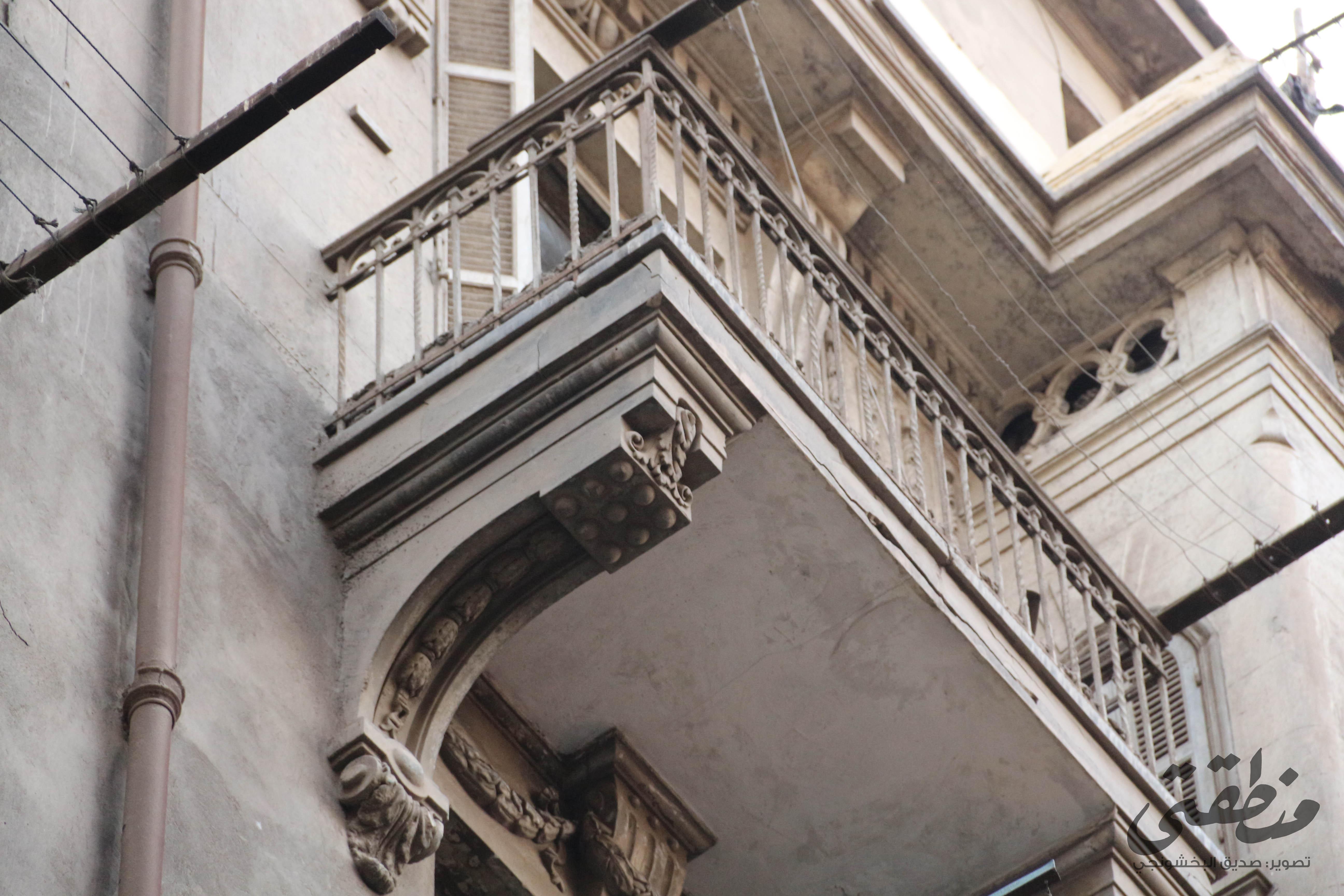 بعض المنازل في مثلث ماسبيرو تحتفظ بزخارفها المعمارية المتميزة