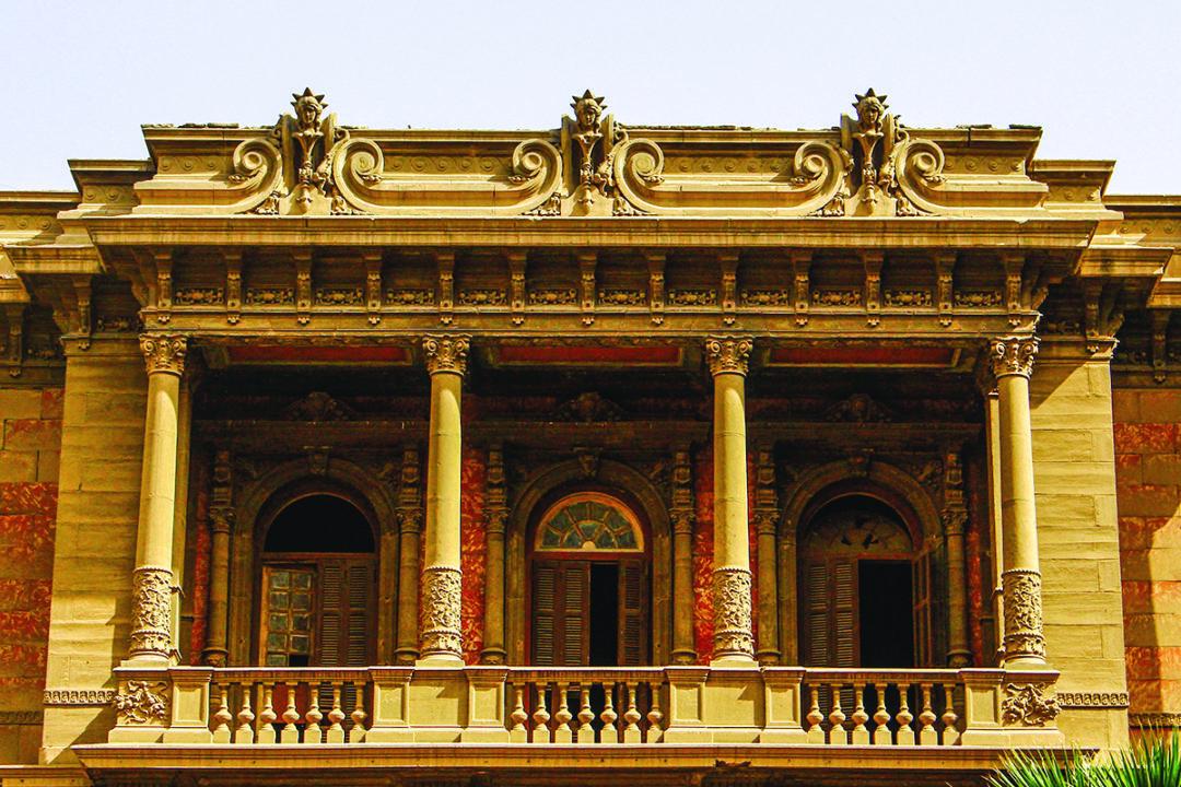 قصر الأمير سعيد حليم بشارع شامبليون بوسط القاهرة 3