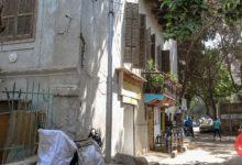 شارع حسين المعمار.. يسارً مبنى تاون هاوس جاليري بعد ترميمه - تصوير: عبد الرحمن محمد