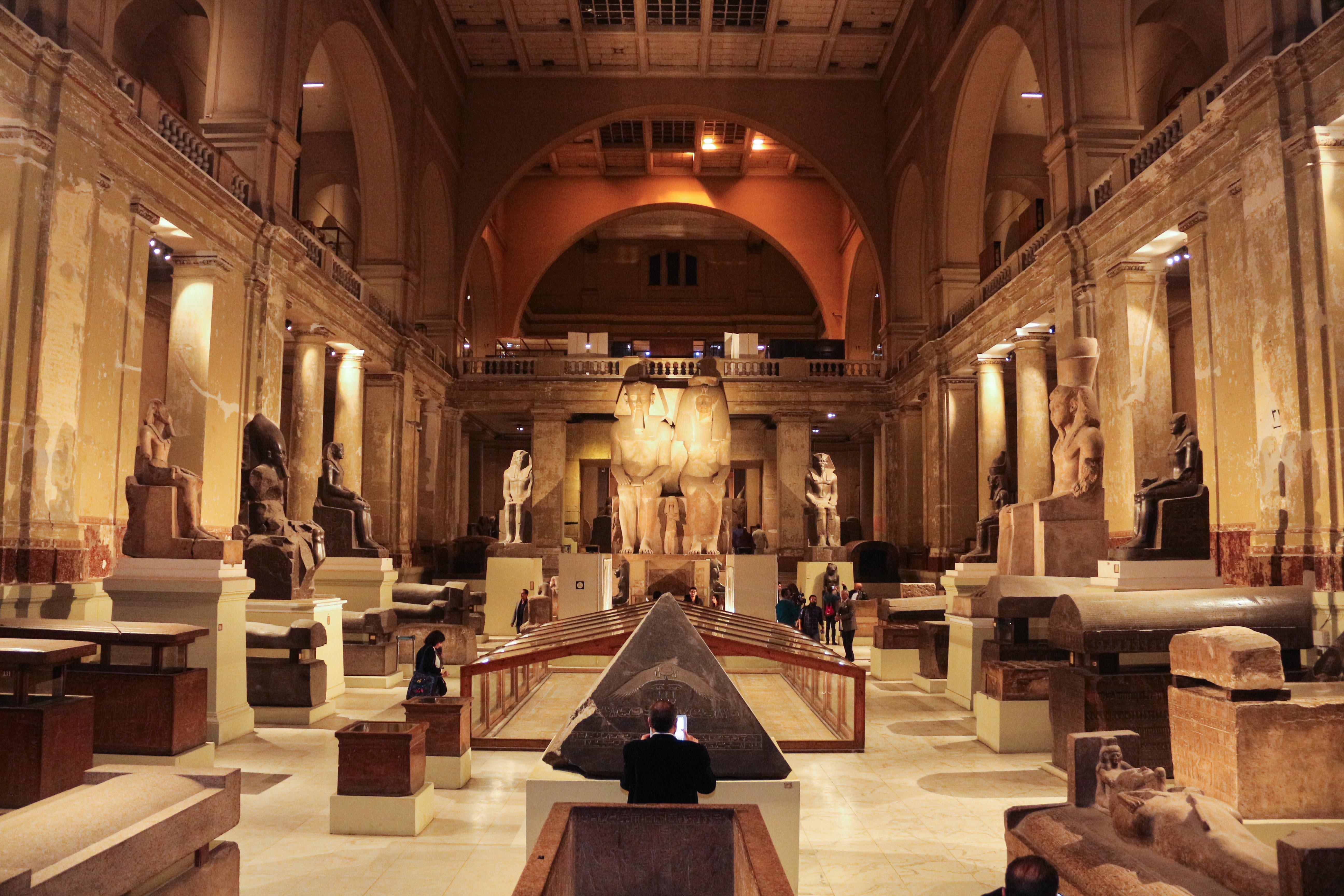 المتحف المصري بالتحرير - تصوير: صديق البخشونجي