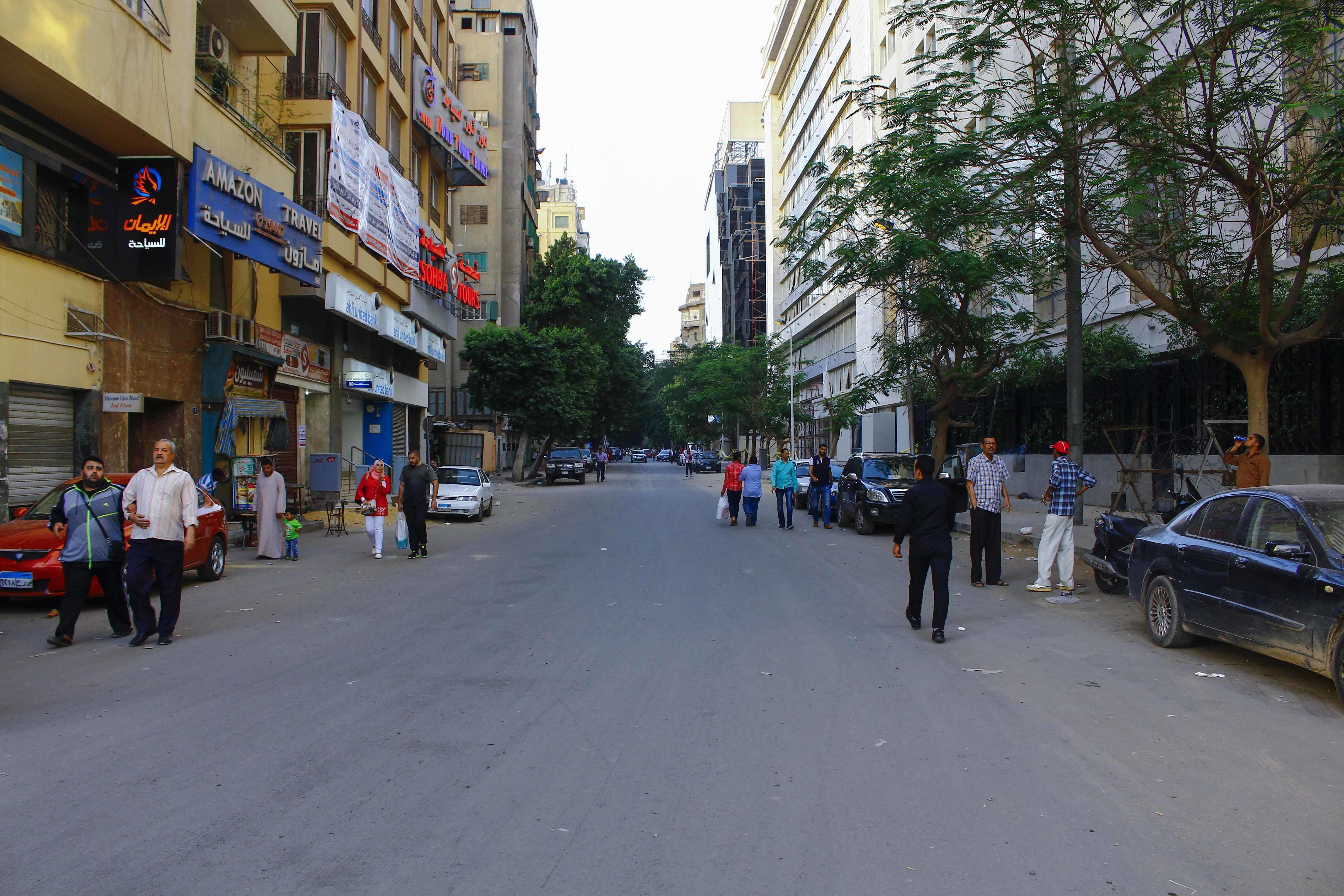 شارع شامبليون- تصوير: صديق البخشونجي