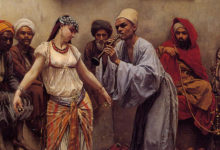 Dancing in a Cafe in Cairo, Jacques Baugnies (1874-1925)