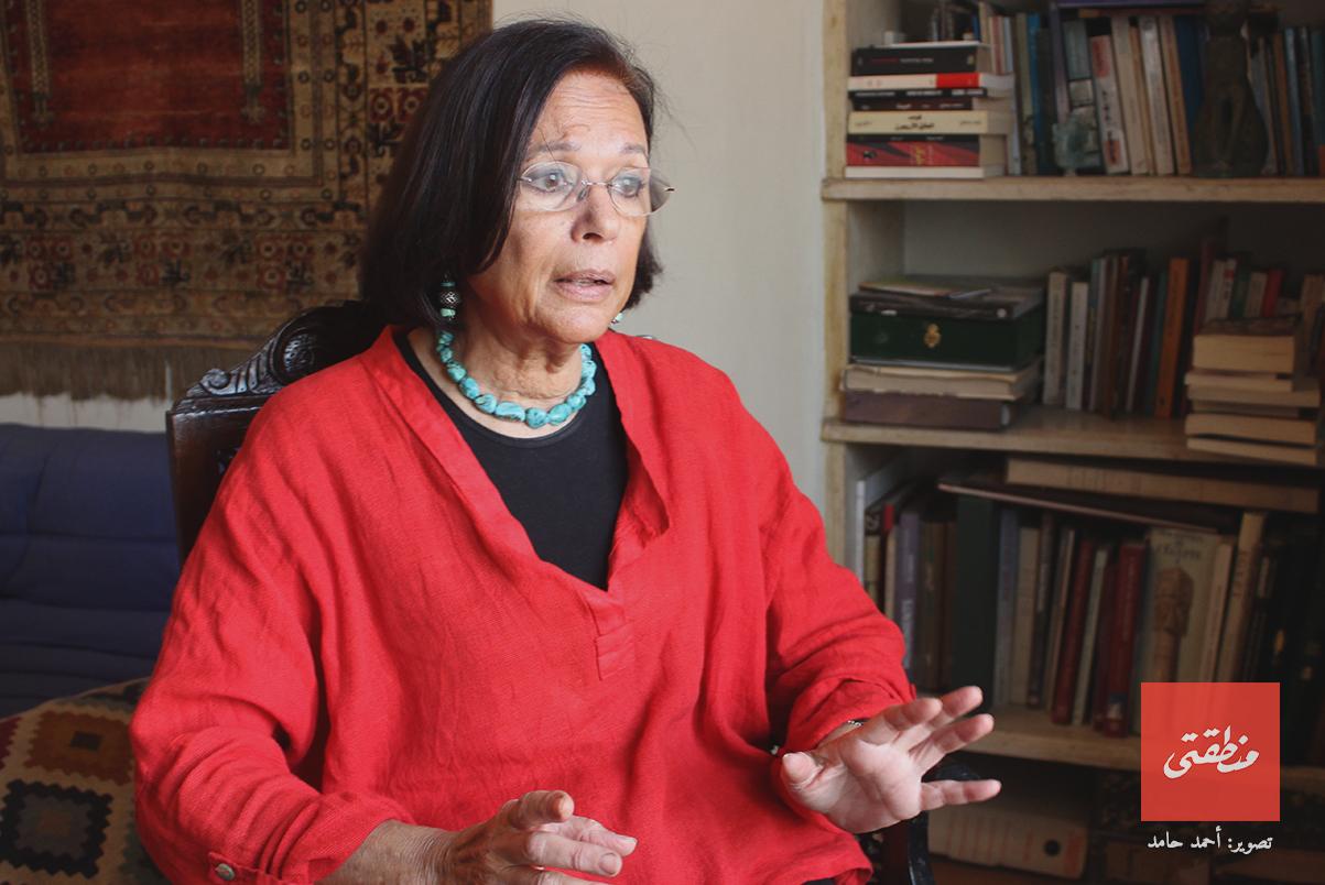 حوار مع الدكتورة جليلة القاضي - تصوير أحمد حامد