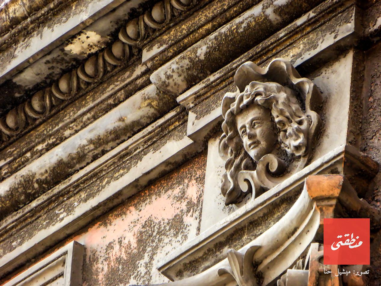 وجه وديع يطل على المارة - شارع الجمهورية