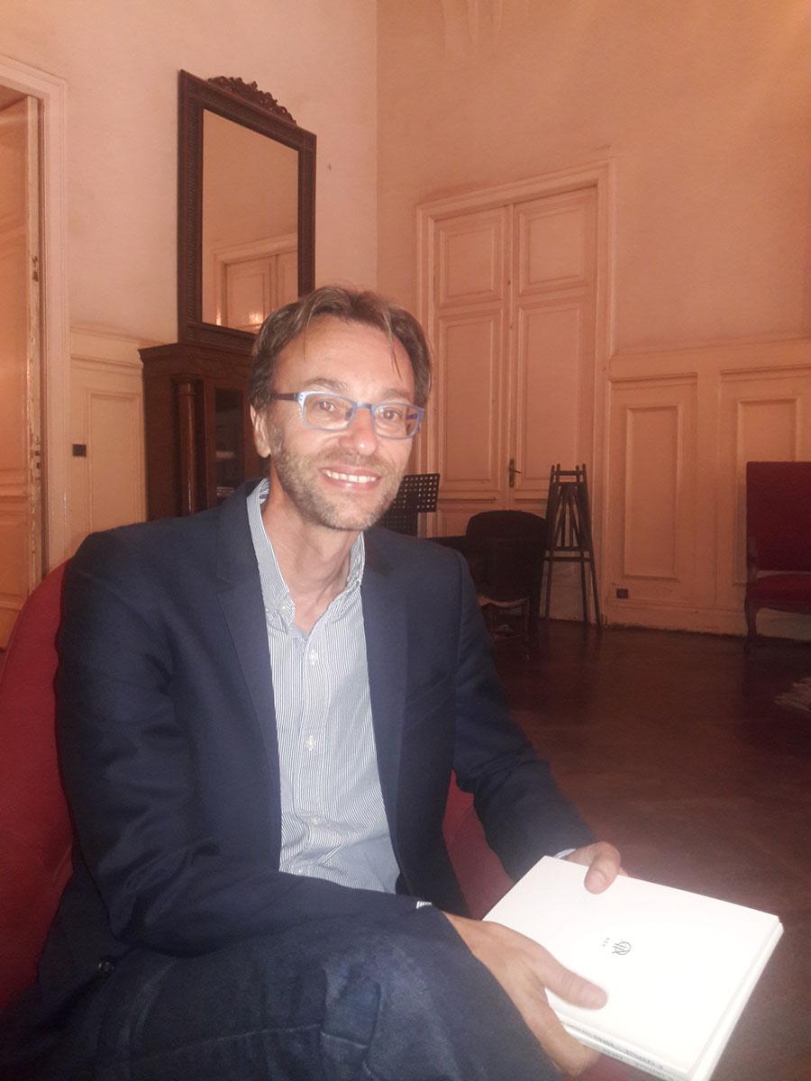 كريستوفر تيير - مدير المركز الفرنسي المصري لدراسة معابد الكرنك