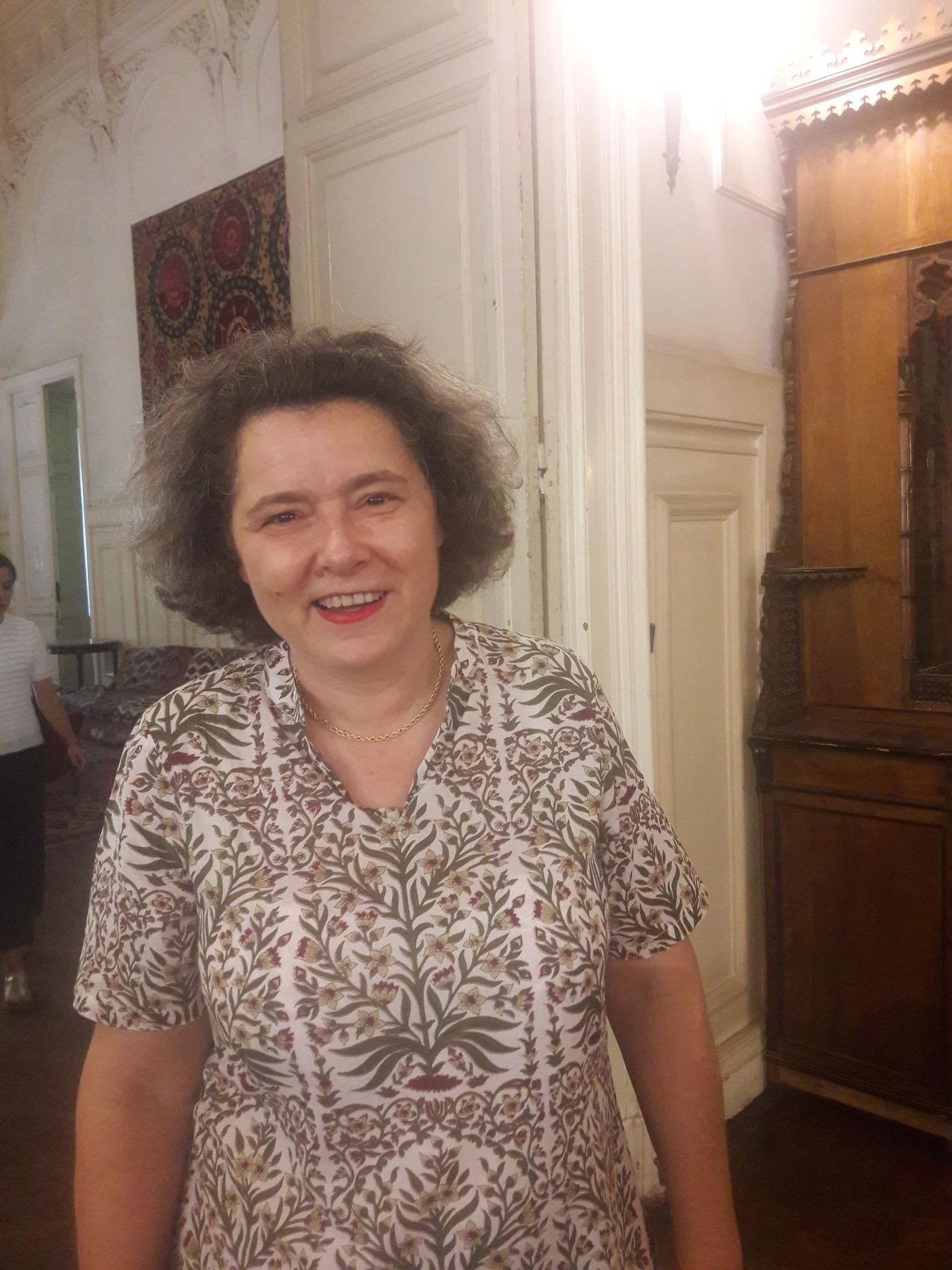 ماري دومينيك نينا مديرة مركز الدراسات السكندرية