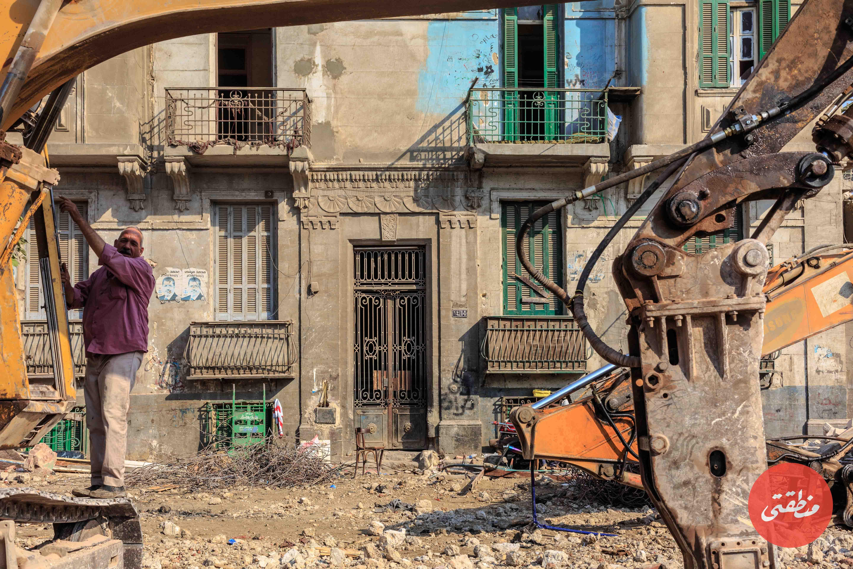 عقار تراثي رقم 14 شارع ابن قطبية - تصوير عبد الرحمن محمد