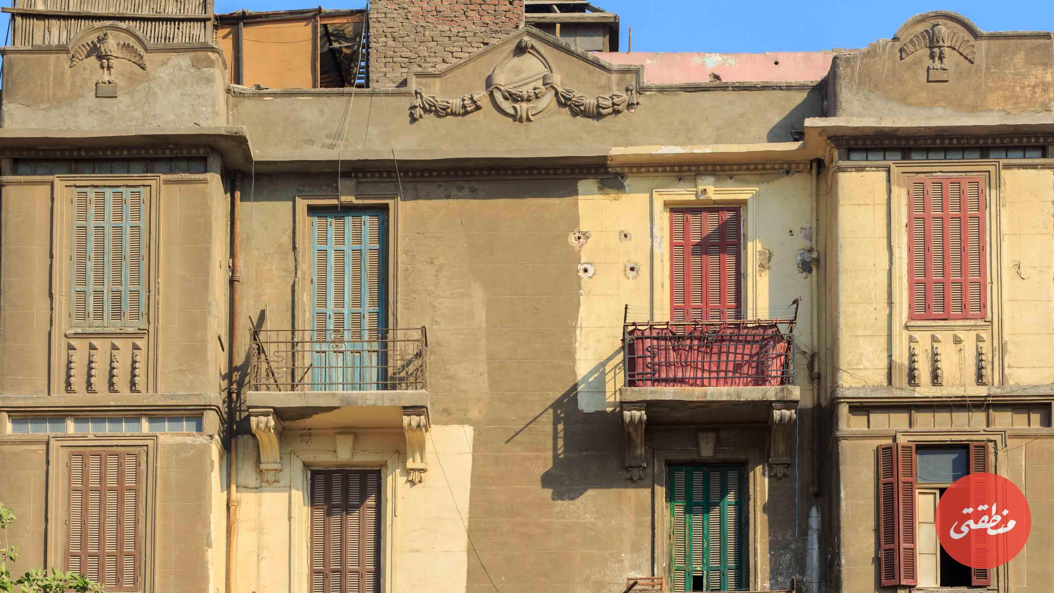 هل تُهدم عمارات مثلث ماسبيرو التراثية؟ - تصوير - عبد الرحمن محمد