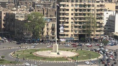 ميدان التحرير في ابريل الماضي قبل زيارة السيسي - تصوير - Jacob Kennedy