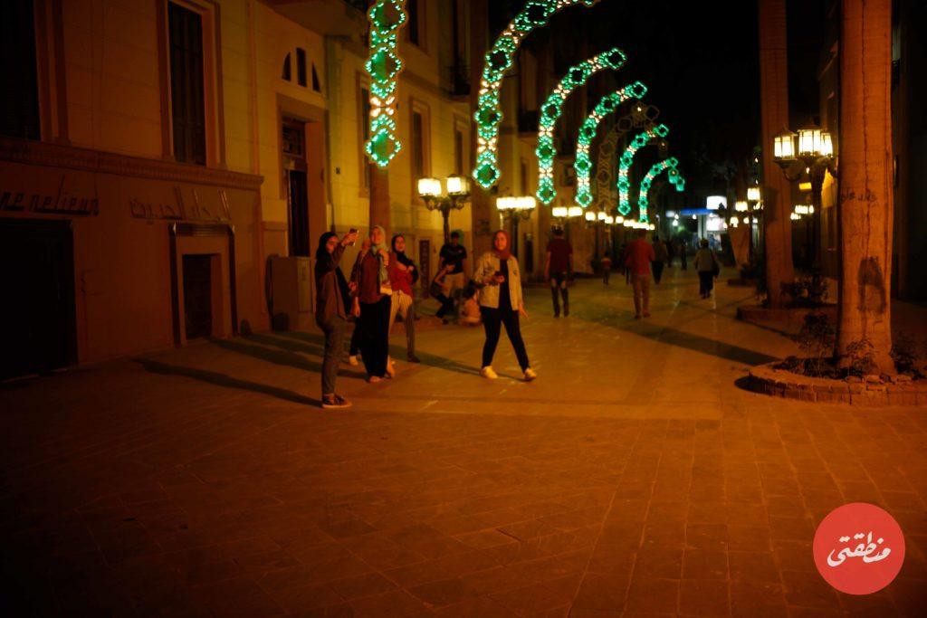 شارع الشريفين منطقة مميزة لالتقاط الصور الفوتوغرافية والسيلفي - تصوير - عبد الرحمن محمد
