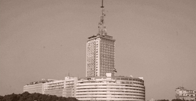 صورة لمبنى ماسبيرو قديمًا