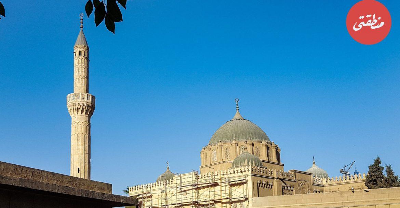 مسجد عابدين، ويعرف أيضا باسم مسجد الفتح - تصوير ميشيل حنا