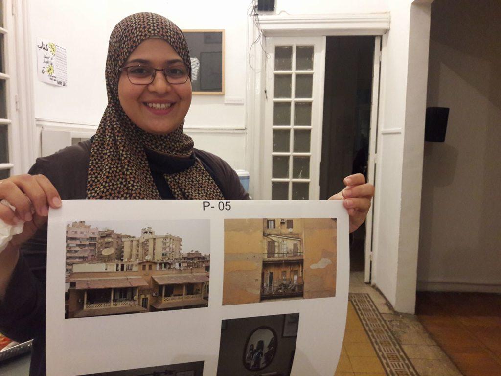 هناء محسن من ضمن المشاركات في ماراثون الصورة ٢٠١٨ بمركز الصورة المعاصرة