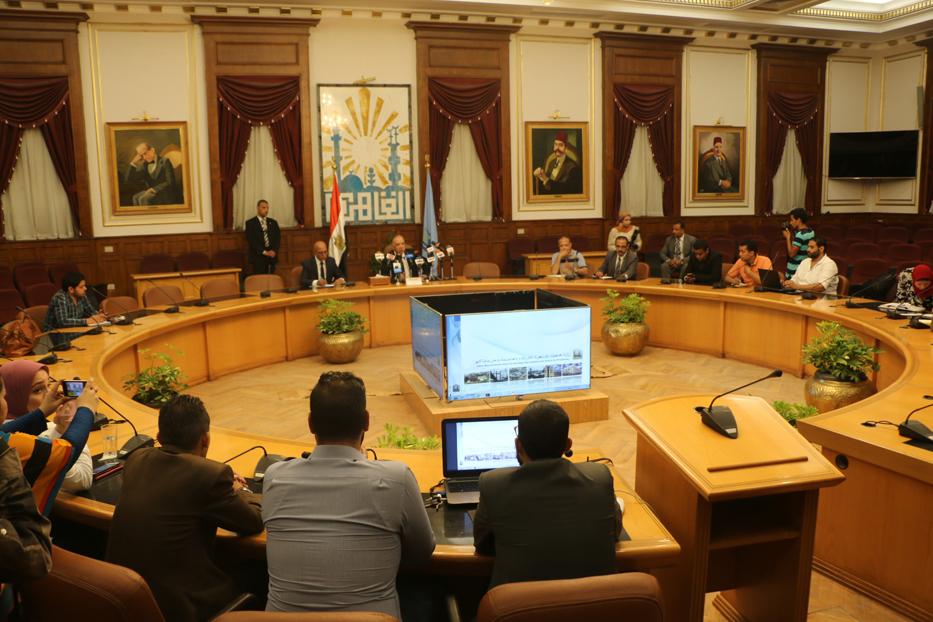 اجتماع محافظة القاهرة الخميس 5 يوليو 2018