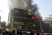 حريق رمسيس ظهر اليوم