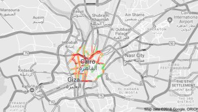 زحام القاهرة المروري