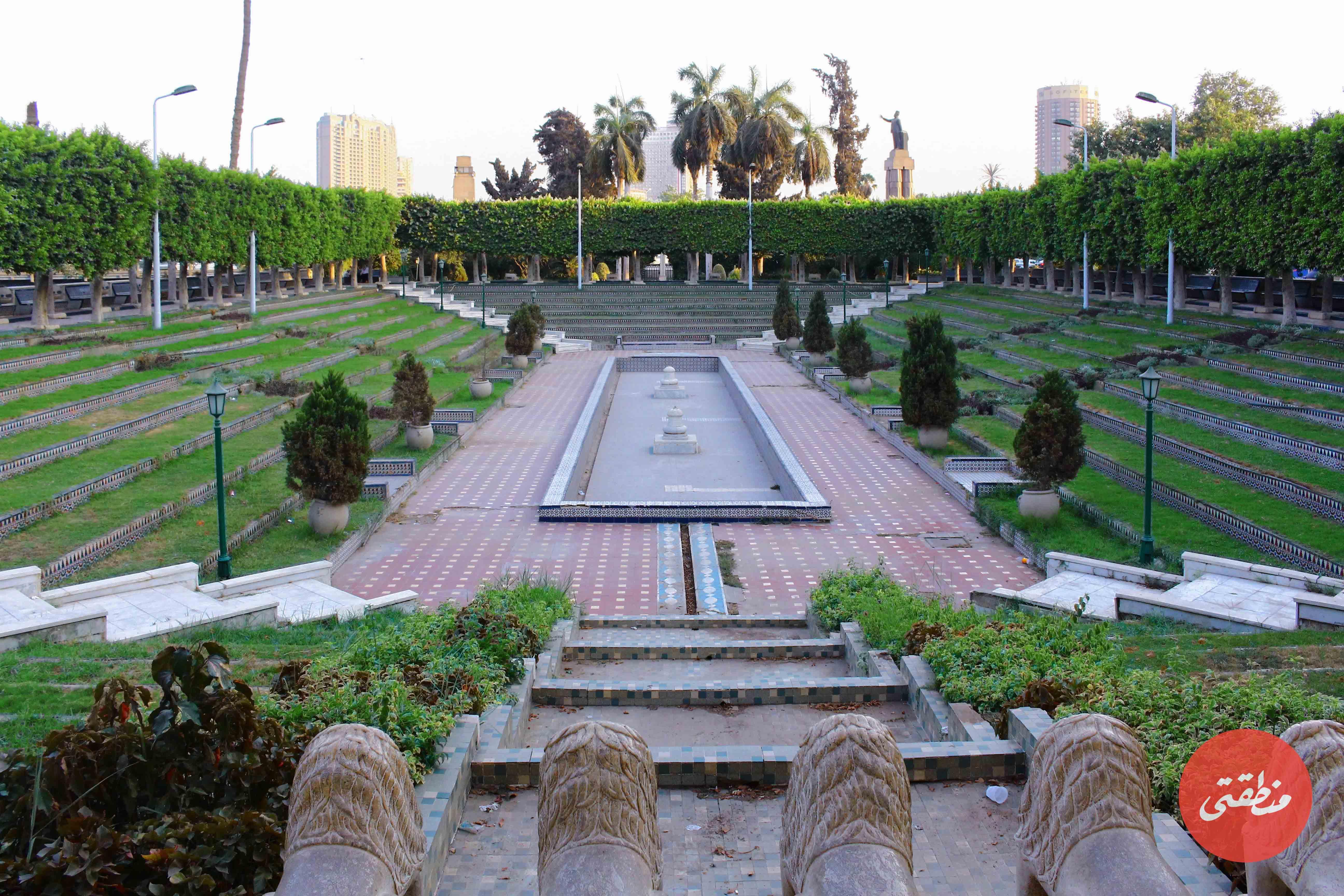 حديقة الأندلس في عام 2015 تصوير صديق البخشونجي