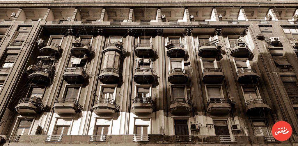 إحدى عمارات القصر العيني - تصوير - ميشيل حنا