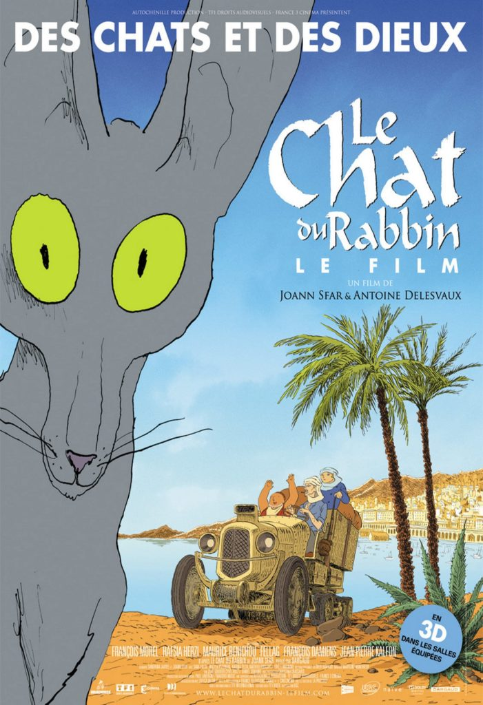 بوستر فيلم Le Chat Du Rabbin