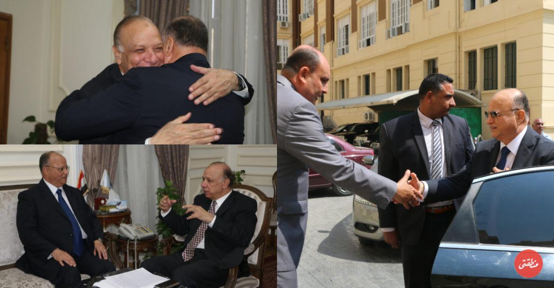 محافظ القاهرة الجديد يصل إلي ديوان عام محافظة القاهرة