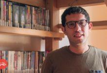 المخرج ماجد نادر - منسق البرامج ومسؤول معمل التحميض بـ «سيماتك» مركز الفيلم البديل - تصوير: عبد الرحمن محمد