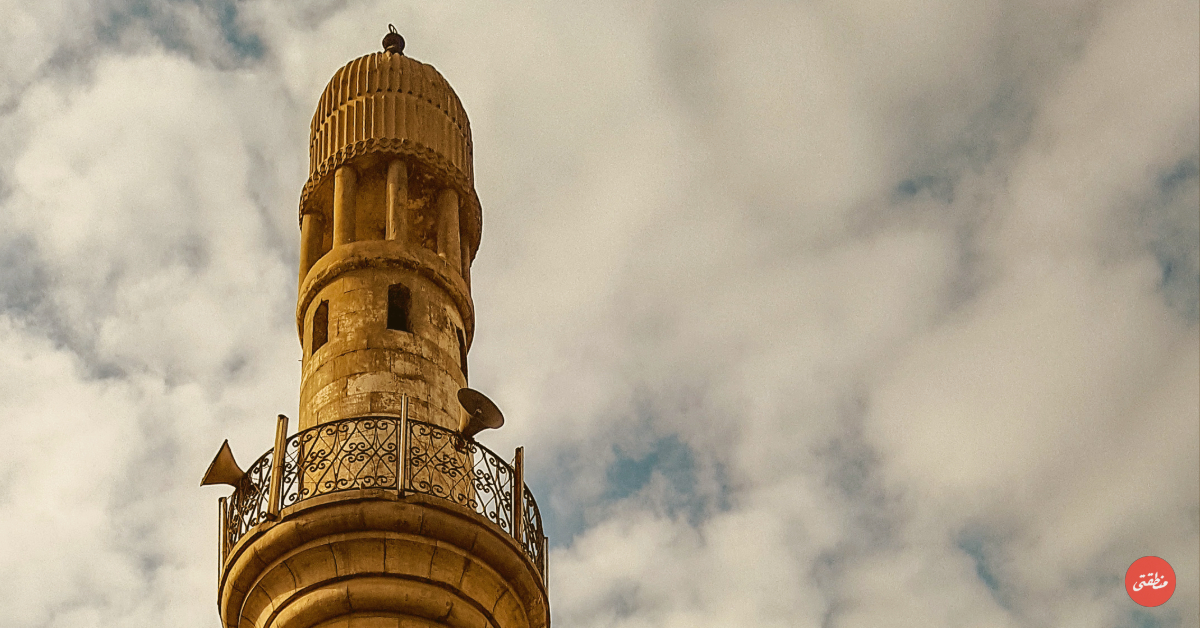 مسجد الدريني - تصوير ميشيل حنا