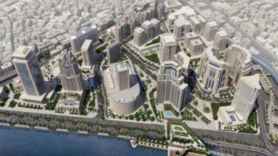 الرؤية المستقبلية لمنطقة ماسبيرو - المصدر - محافظة القاهرة