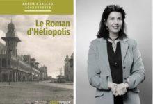 الكونتيسة أميلي دارشو، وغلاف كتابها عن مصر الجديدة