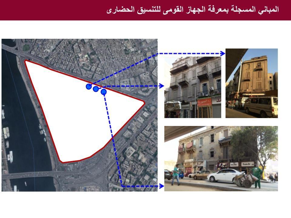 المباني المسجلة بمعرفة الجهاز القومى للتنسيق الحضارى - المصدر - محافظة القاهرة