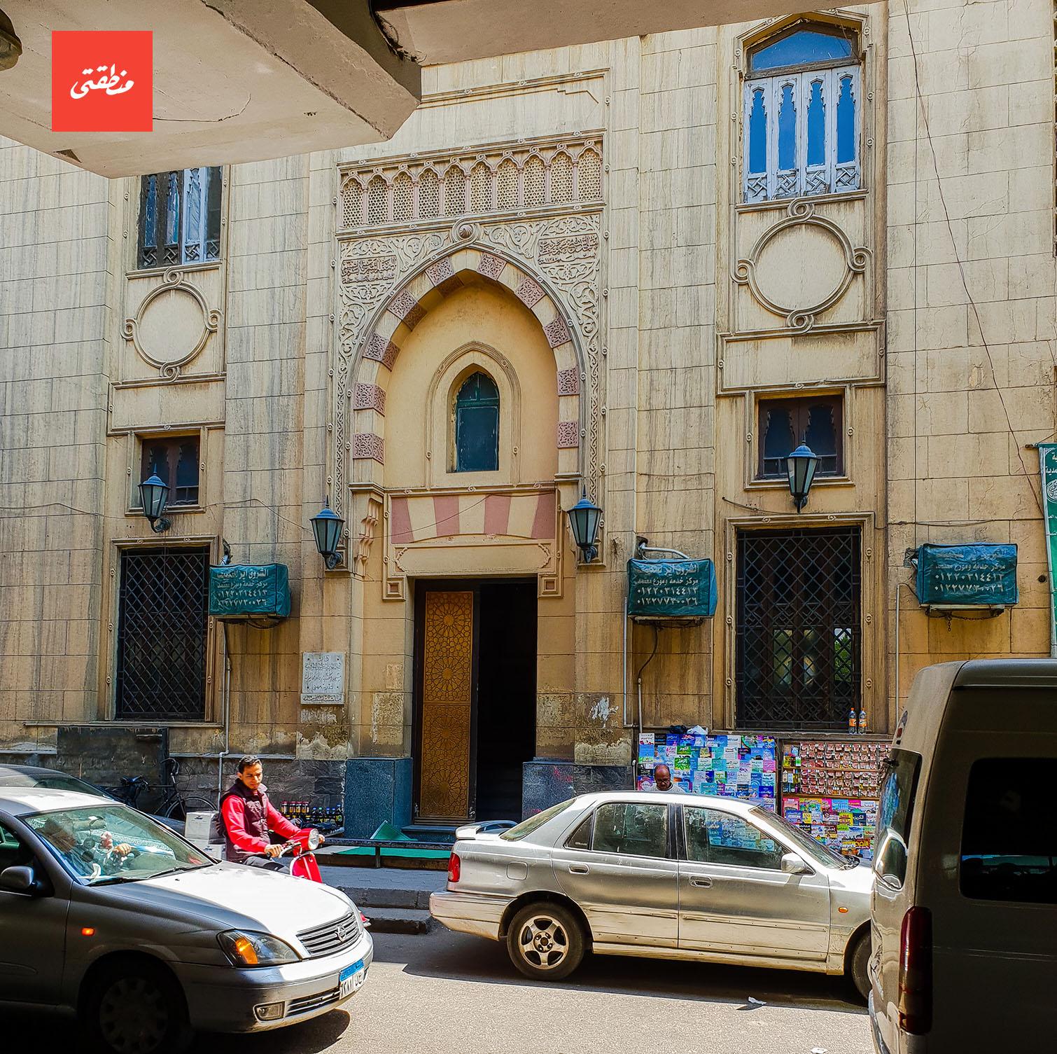 مسجد الشيخ محمود خطاب بشارع الجلاء - تصوير - ميشيل حنا