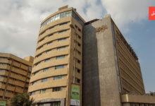 مبنى جريدة الأهرام بشارع الجلاء، وهو من تصميم المعماري الشهير نعوم شبيب